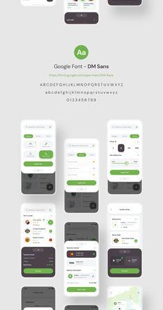 Poris App UI Kit — UI Kits on UI8 Mobile Ui Design, App Ui Design, Interface Design, User Interface, Graphic Design Flyer, Dashboard Ui, Delivery App, App Design Inspiration, Mobile App Ui