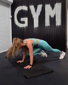 Full body no equipment HIIT workout routine. Burn fat and calories at home with this killer workout. Full body no equipment HIIT workout routine. Burn fat and calories at home with this killer workout. Hiit Workout Routine, Full Body Workout At Home, Gym Workout Videos, Fitness Workout For Women, Sport Fitness, Workout Challenge, Yoga Fitness, Gym Workouts, At Home Workouts