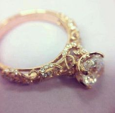 Wow. There are no words to describe this ring, I think I'm in love. KM