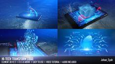 HiTech Transform Logo  • After Effects Template • Download ↓ https://videohive.net/item/hitech-transform-logo/13234443?ref=pxcr