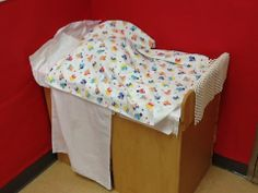 house furniture converted to patient examining table-Julia Zepeda