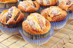 Vajas, barackos muffin - Recept | Femina Muffin Recipes, Baking Recipes, Dessert Recipes, Healthy Nutrition, Healthy Cooking, Baking Muffins, Macaroons, Baked Goods, Food Porn