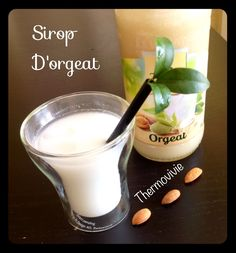 Sirop d'orgeat au thermomix