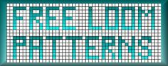 Site has numerous pages of free Loom Beadwork Patterns #heartbeadwork #loombeading