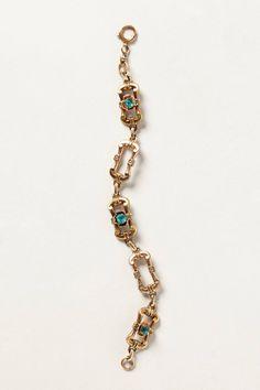 Vintage Deco Link Bracelet - anthropologie.com