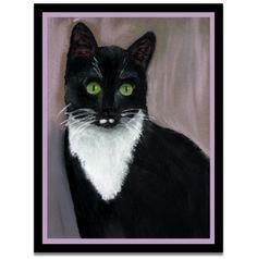 Green eyed Tux