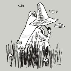 Moomin & Snufkin by Earth-Gnome