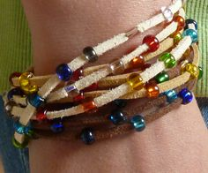 In this instructable I'll show you how to make these wrapped bracelet. I hope you like it!