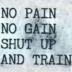 Go train.. no excuses! | Come to Body Morph Gym in Ferndale, MI for all of your fitness needs! Call (248) 544-4646 TODAY to schedule an appointment or visit our website www.bodymorph.net for more information!