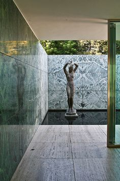 L.Mies Van der ROHE - GERMAN Pavilion in Barcelona, Spain