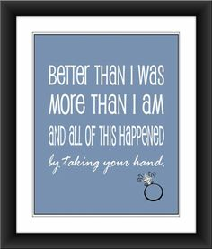Wedding quote |Pinned from PinTo for iPad|