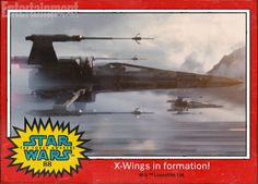 The design is slightly different—the wings open up in the middle instead of havingtwo platforms pressed together—but Poe Dameron's squadron seems no less fearsome than...