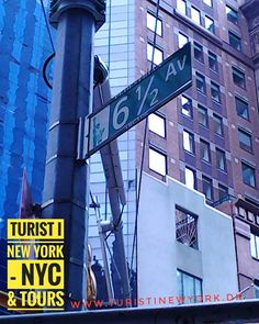 #Sixandahalfavenue ... Did you know about this Street in #NYC?  #turistinewyork #nycrejsetips #nycandtours #danskerinewyork #danskeriusa #dansktourguide #sightseeing #onlineconcierge