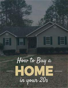 How to Buy a Home in Your 20s // PaperLark Studio buy a home buying your first home #homeowner