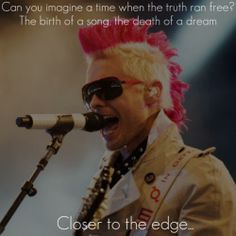 Made this <3 best band ever  30 seconds to mars lyric art
