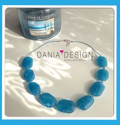 Collana Maldive ☀️   per info: info@daniadesign.it  #collana #collane #necklace #accessori #accessories #handmade #fattoamano #madeinitaly #creazioni #creations #handmadecreations #bijoux #blumare #maldives #azzurro