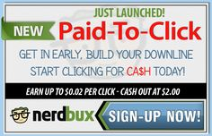 Great PTC site with 0,02 per click and a low $2 payout. Tons of payment proof has already been posted. Get Paid To Click with this quality PTc site.