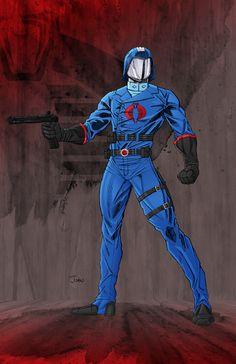 Cobra Commander by ~JohnJett on deviantART
