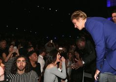 Pin for Later: The Best Pictures From Justin Bieber's Star-Studded Roast Kendall Jenner, Kevin Hart, and Justin Bieber