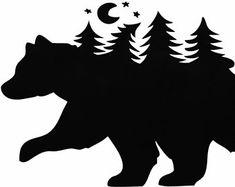 Nature Walk - Bear Mountain Vinyl Decal
