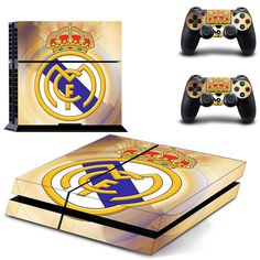 Real Madrid C.F ps4 skin decal for console and controllers dualshock – Decal Design