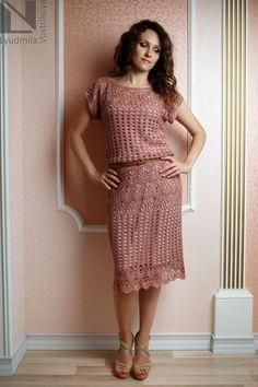 Время вязаной моды: Платье