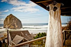 Image by MoscaPhoto.com : The picture perfect autumn Cannon Beach wedding day of Olivia and Ryan.