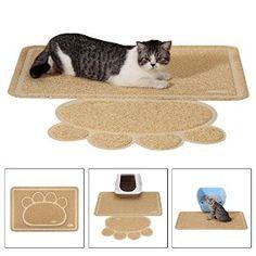 Ollieroo Premium Jumbo Size Cat Litter Mat Set