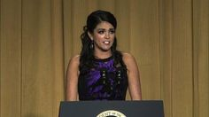 Cecily Strong took aim at media stars and politicians during the 2015 White House Correspondents' Dinner on Saturday.  The 'Saturday Night Live' star hosted the event, firing off quips about President Barack Obama, Hillary Clinton and the media.