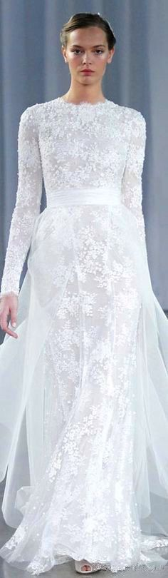 wedding dress #gown #bridal #elegant  For Authentic Vintage Wedding Jewelry go to: https://www.etsy.com/shop/ButterflyEffectInc
