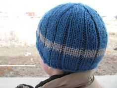 Made this cute hat for my son! Absolutely LOVE LOVE LOVE this free hat pattern. It fit perfectly!!!