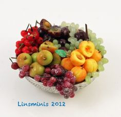 ** Overloaded Fruit Bowl! ** ...IGMA Fellow Linda Cummings