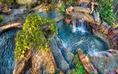 This week our eyes got stuck on swimming pools. Take a look at beautiful pictures below and let us know if those are the most beautiful swimming pools ever. Until not so long ago swimming pools wer…