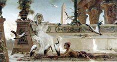 'Cleopatra' ~ Willhelm Kotarbinski, 1849-1921