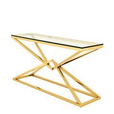 #EICHHOLTZ Console table Connor gold