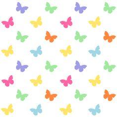 butterfly: free digital scrapbooking paper, wrapping paper AND seamless pattern – Schmetterlingspapier – freebie | MeinLilaPark