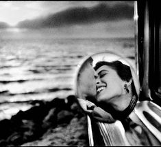 Elliott Erwitt, Santa Monica, California, 1955. © Elliott Erwitt/Magnum Photos >>So great, black and white is so dramatic and moving.