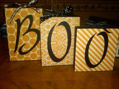 Wooden block signs and shelves by jennifervanhise on Etsy, $20.00