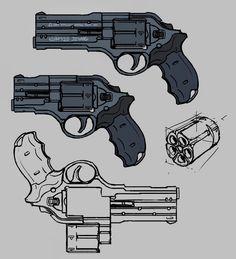 Quem nunca desenhou um personagem com uma pistola, ou não quis fazer um quadrinho/história com algum pistoleiro locão, ou um justiceiro ? Be...