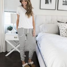 Merrick's Art // Style + Sewing for the Everyday Girl : THE BEST SLIPPERS + A LOUNGE PANTS TUTORIAL