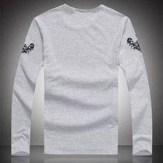 Wholesale Men Long Sleeve - Buy Best Sale Men Long Sleeve Shirts Men's Clothing Fall Men's Cotton Crew Neck Clothing for Mens Shirts Wholesale BBox, $13.87 | DHgate
