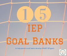 IEP Goal Banks for p