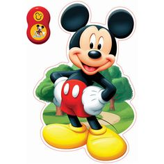 Uncle Milton Wall Friends, Mickey Mouse