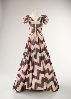 Costume Institute - Evening dress, by House of Worth, ca. 1938