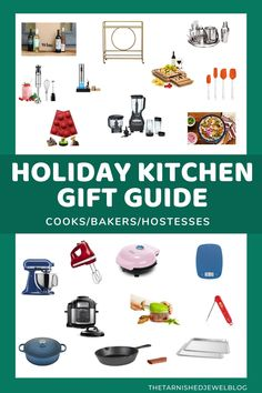 Need a little help finding the perfect Christmas gift this 2020 for all of the special food and kitchen lovers in your life? Try Holiday Kitchen Gift Guide: Cooks, Bakers, & Hostesses by thetarnishedjewelblog.com. #affiliatelinks #christmasgiftideasforher #holidaygiftguideforher #holidaygiftguide2020 #holidaykitchenideas #kitchengifts #bestkitchengifts2020 #bestholidaygiftsforher #christmasgiftguide2020 #top20holidaygiftsforwomen #top20bestholidaygiftguide2020 #top20gifts2020 Christmas Gift Guide, Perfect Christmas Gifts, Holiday Fun, Christmas Ideas, Kitchen Tops, Kitchen Gifts, Shelf Paper, Christmas Mantels, Cool Kitchens