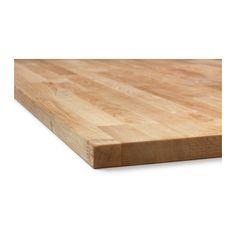 "HAMMARP Countertop IKEA   Solid Birch  $119 74"" x 1-1/8"" thick x 25-5/8"""