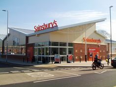 The new Sainsbury's eco store in Dursley by J Sainsbury, via Flickr