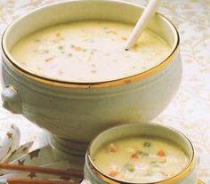 Koninginnesoep recept - Soep - Eten Gerechten - Recepten Vandaag Chowder Recipes, Soup Recipes, Slow Cooker Recipes, Cooking Recipes, Low Carb Taco Soup, Low Carb Tacos, Thermomix Soup, I Want Food, Dutch Recipes