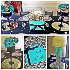 Tiffany Blue bridal shower by Chloe Cook Events