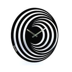 Wand klok metaal Glozis hypnose van Glozis op Etsy